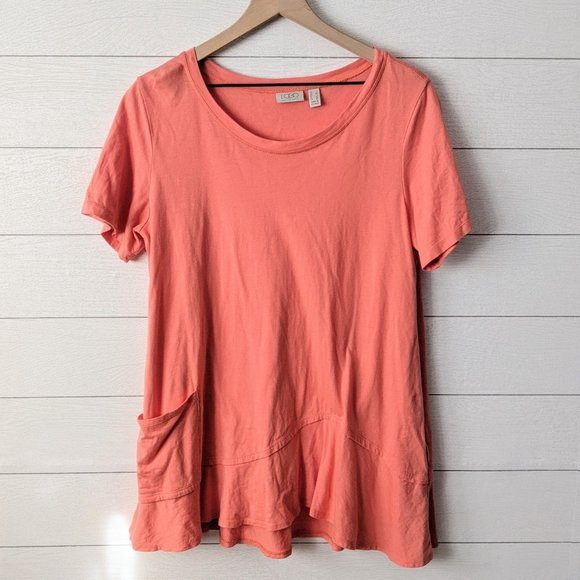 LOGO Coral Tunic Top L